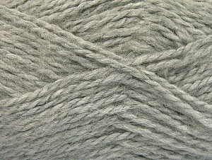SuperBulky  Fiber Content 70% Acrylic, 30% Angora, Light Grey, Brand ICE, fnt2-63125