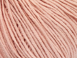 Fiber Content 50% Cotton, 50% Acrylic, Powder Pink, Brand ICE, Yarn Thickness 3 Light  DK, Light, Worsted, fnt2-63341