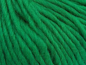 Contenido de fibra 100% Lana, Brand ICE, Green, Yarn Thickness 5 Bulky  Chunky, Craft, Rug, fnt2-63344