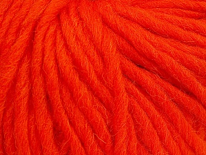 Contenido de fibra 100% Lana, Orange, Brand ICE, Yarn Thickness 5 Bulky  Chunky, Craft, Rug, fnt2-63345