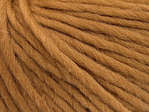 Contenido de fibra 100% Lana, Light Brown, Brand ICE, Yarn Thickness 5 Bulky  Chunky, Craft, Rug, fnt2-63346