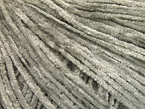 Fiber Content 100% Polyester, Light Grey, Brand ICE, Yarn Thickness 1 SuperFine  Sock, Fingering, Baby, fnt2-63361