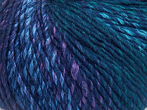 Fiber Content 70% Acrylic, 30% Wool, Turquoise, Navy, Lilac, Brand ICE, Green, fnt2-63458
