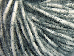 Fiber Content 60% Acrylic, 40% Polyamide, White, Brand ICE, Grey, Yarn Thickness 5 Bulky  Chunky, Craft, Rug, fnt2-63500