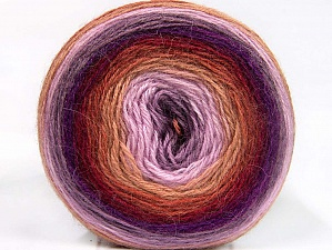Fiber Content 60% Premium Acrylic, 20% Wool, 20% Mohair, Lilac Shades, Brand ICE, Camel, Burgundy, Yarn Thickness 2 Fine  Sport, Baby, fnt2-63715