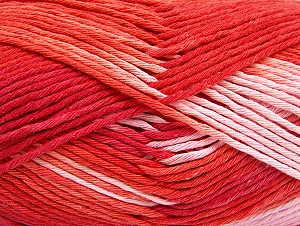 Fiber Content 100% Cotton, Salmon, Red, Pink, Brand ICE, fnt2-64191