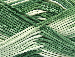 Fiber Content 100% Cotton, Brand ICE, Green Shades, fnt2-64196