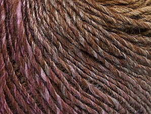 Fiber Content 70% Acrylic, 30% Wool, Purple, Brand ICE, Brown Shades, Yarn Thickness 3 Light  DK, Light, Worsted, fnt2-64216