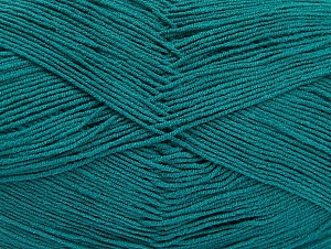 İçerik 55% Pamuk, 45% Akrilik, Brand ICE, Emerald Green, Yarn Thickness 1 SuperFine  Sock, Fingering, Baby, fnt2-64232