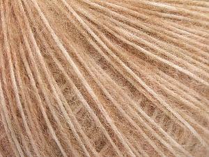 Fiber Content 30% Polyamide, 30% Acrylic, 20% Alpaca, 20% Wool, Light Salmon, Brand ICE, fnt2-64413