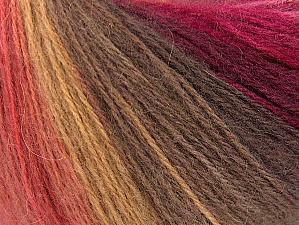 İçerik 60% Akrilik, 20% Yün, 20% Angora, Red, Pink Shades, Brand ICE, Brown Shades, Yarn Thickness 2 Fine  Sport, Baby, fnt2-64425