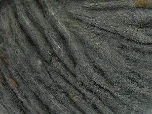 Fiber Content 88% Acrylic, 8% Polyamide, 4% Viscose, Brand ICE, Grey, fnt2-64430