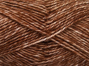 Fiber Content 80% Cotton, 20% Acrylic, Brand Ice Yarns, Brown, fnt2-64551