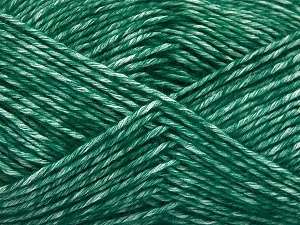 Fiber Content 80% Cotton, 20% Acrylic, Brand Ice Yarns, Dark Green, fnt2-64555