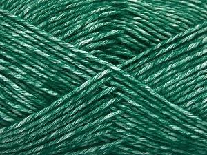 Fiber Content 80% Cotton, 20% Acrylic, Brand Ice Yarns, Dark Green, fnt2-64555