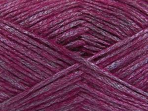 Fiber Content 70% Polyamide, 19% Wool, 11% Acrylic, Lilac, Brand Ice Yarns, Fuchsia, fnt2-64584