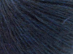Fiber Content 76% Tencel, 14% Mohair, Navy, Brand Ice Yarns, fnt2-64628