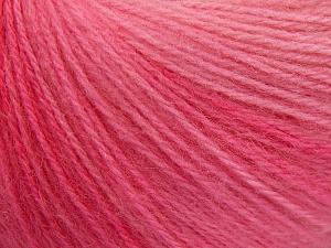 Fiber Content 60% Acrylic, 20% Angora, 20% Wool, Pink Shades, Brand Ice Yarns, fnt2-64633