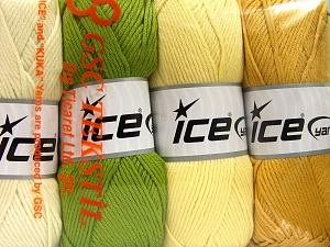 İçerik 52% Naylon, 48% Akrilik, Mixed Lot, Brand Ice Yarns, fnt2-64673