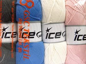 İçerik 52% Naylon, 48% Akrilik, Mixed Lot, Brand Ice Yarns, fnt2-64674