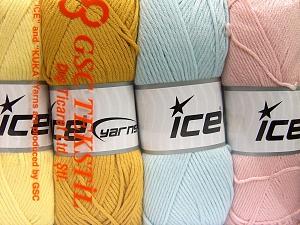 İçerik 52% Naylon, 48% Akrilik, Mixed Lot, Brand Ice Yarns, fnt2-64675