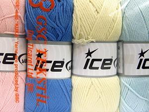 İçerik 52% Naylon, 48% Akrilik, Mixed Lot, Brand Ice Yarns, fnt2-64676