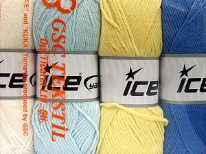 İçerik 52% Naylon, 48% Akrilik, Mixed Lot, Brand Ice Yarns, fnt2-64677