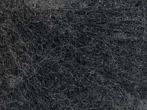 Fiber Content 50% Polyamide, 40% Baby Alpaca, 10% Merino Wool, Brand Ice Yarns, Dark Grey, fnt2-64969