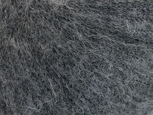 Fiber Content 50% Polyamide, 40% Baby Alpaca, 10% Merino Wool, Brand Ice Yarns, Grey, fnt2-64970