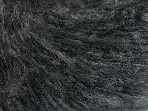 Fiber Content 40% Cotton, 20% Polyamide, 20% Acrylic, 20% Alpaca Superfine, Brand Ice Yarns, Dark Grey, fnt2-64990