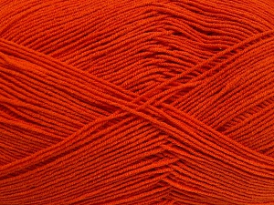 Fiber Content 55% Cotton, 45% Acrylic, Orange, Brand Ice Yarns, fnt2-65004