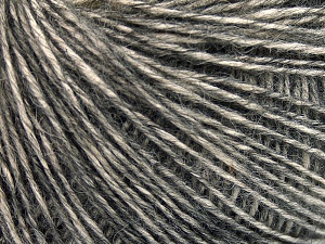 Fiber Content 56% Cotton, 22% Extrafine Merino Wool, 22% Baby Alpaca, Brand Ice Yarns, Anthracite Black, fnt2-65021
