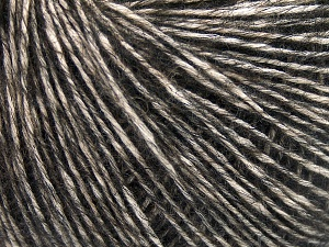 Fiber Content 56% Cotton, 22% Extrafine Merino Wool, 22% Baby Alpaca, Brand Ice Yarns, Dark Brown, fnt2-65022