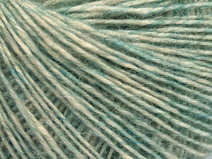 Fiber Content 56% Cotton, 22% Extrafine Merino Wool, 22% Baby Alpaca, Light Green, Brand Ice Yarns, fnt2-65030