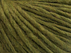 Fiber Content 50% Merino Wool, 25% Acrylic, 25% Alpaca, Brand Ice Yarns, Green, fnt2-65078
