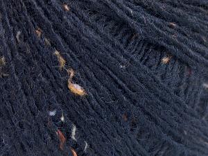 Fiber Content 50% Wool, 40% Acrylic, 10% Viscose, Brand Ice Yarns, Dark Navy, fnt2-65093