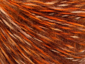 Fiber Content 85% Acrylic, 15% Wool, Brand Ice Yarns, Gold, Brown Shades, fnt2-65126