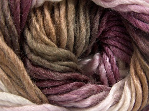 Fiber Content 50% Wool, 50% Acrylic, White, Maroon Shades, Brand Ice Yarns, Camel, fnt2-65180