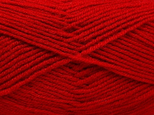 Fiber Content 50% Acrylic, 50% Wool, Red, Brand Ice Yarns, fnt2-65191