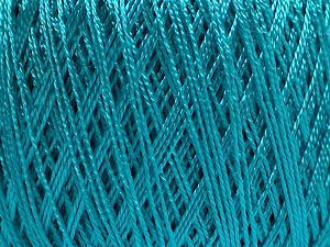 Fiber Content 70% Viscose, 30% Polyamide, Turquoise, Brand Ice Yarns, fnt2-65238