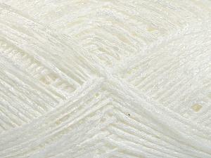 Fiber Content 70% Acrylic, 30% Polyamide, White, Brand Ice Yarns, fnt2-65249