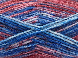 Fiber Content 50% Premium Acrylic, 50% Wool, Red, Brand Ice Yarns, Grey, Blue, fnt2-65288