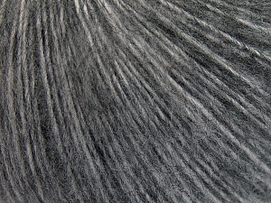 Mohair  Fiber Content 45% Acrylic, 25% Wool, 20% Mohair, 10% Polyamide, Brand Ice Yarns, Grey Shades, fnt2-65354