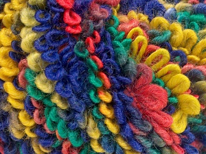 Fiber Content 50% Acrylic, 40% Wool, 10% Polyamide, Salmon, Purple, Brand Ice Yarns, Green, Gold, fnt2-65393