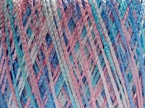 Fiber Content 100% Polyamide, Pink Shades, Lilac, Brand Ice Yarns, Blue Shades, fnt2-65394