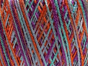 Fiber Content 100% Polyamide, Purple, Light Turquoise, Brand Ice Yarns, Copper, fnt2-65397