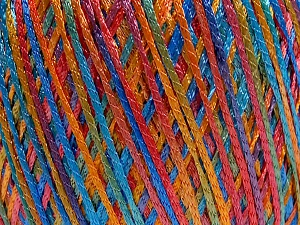 Fiber Content 100% Polyamide, Turquoise, Red, Brand Ice Yarns, Copper, Blue, fnt2-65398