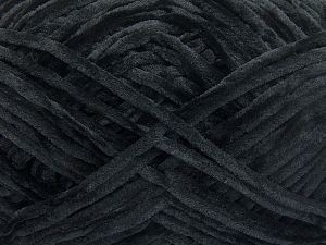 Fiber Content 100% Micro Fiber, Brand Ice Yarns, Black, Yarn Thickness 3 Light  DK, Light, Worsted, fnt2-65509