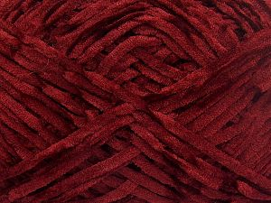 Fiber Content 100% Micro Fiber, Brand Ice Yarns, Dark Burgundy, Yarn Thickness 3 Light  DK, Light, Worsted, fnt2-65521