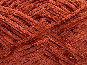 Fiber Content 100% Micro Fiber, Brand Ice Yarns, Dark Orange, Yarn Thickness 3 Light  DK, Light, Worsted, fnt2-65523